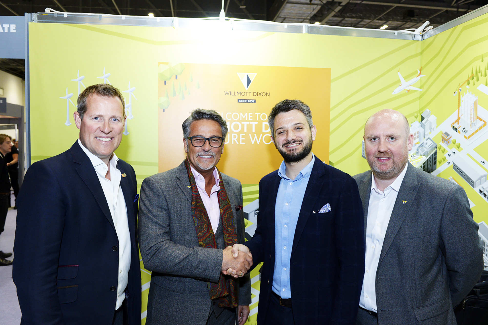 Willmott Dixon named headline sponsor for Active Uprising after signing three-year partnership with ukactive