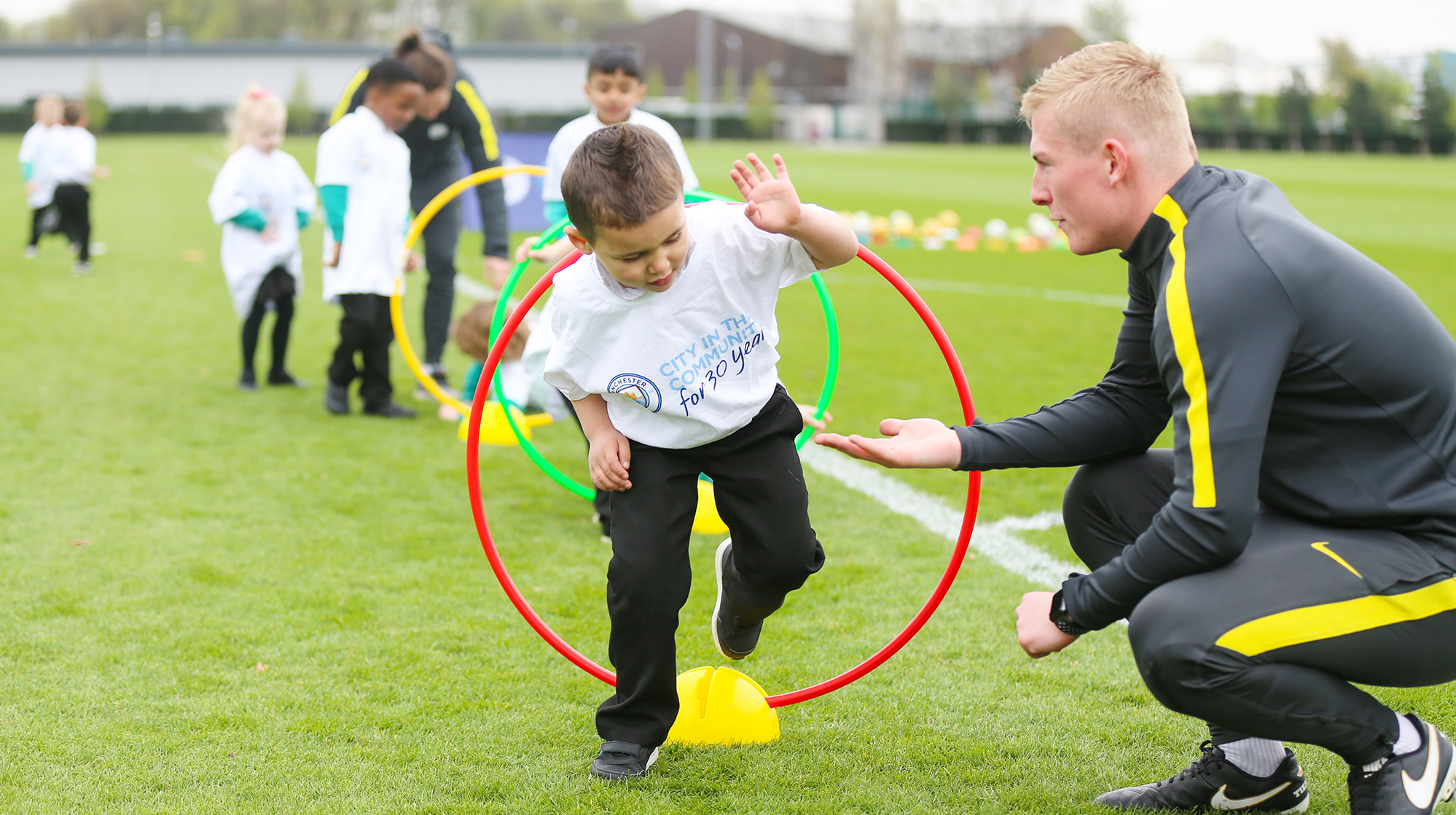 City in the Community joins ukactive to get kids moving on Active Uprising Weekend