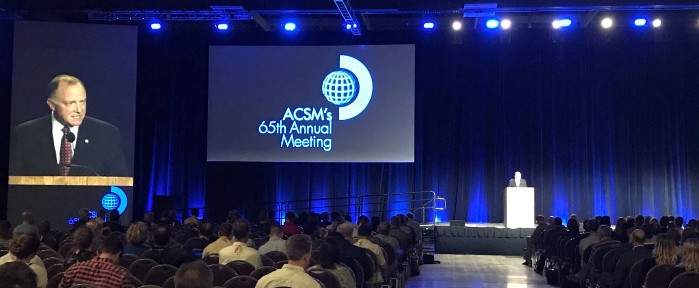 Dr James Steele leads ukactive delegation at ACSM annual meeting