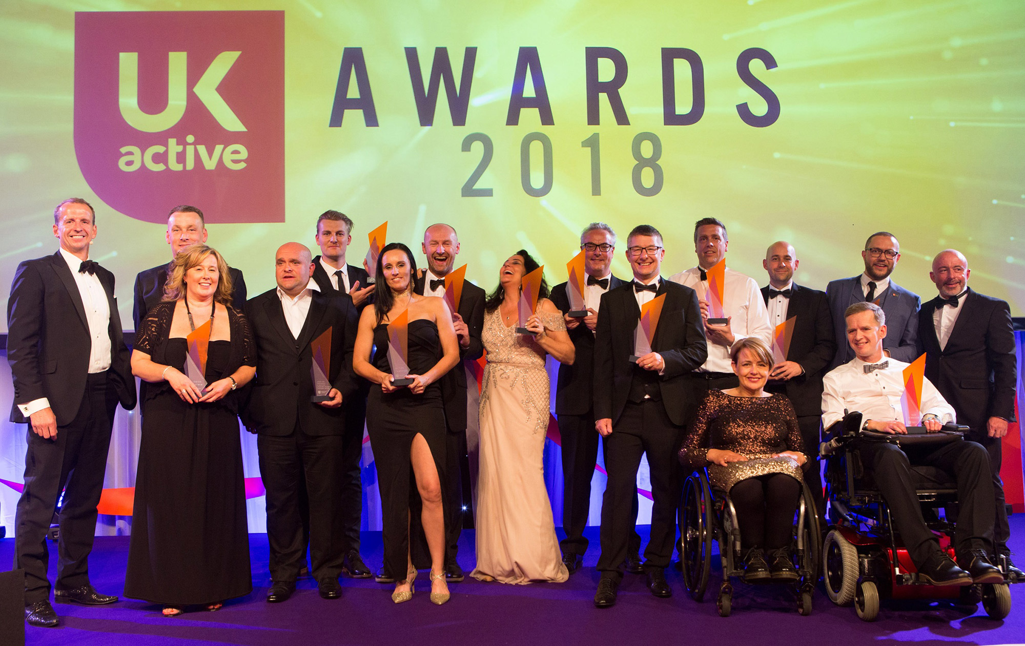 First ukactive Awards winners revealed as industry's finest descend on Manchester