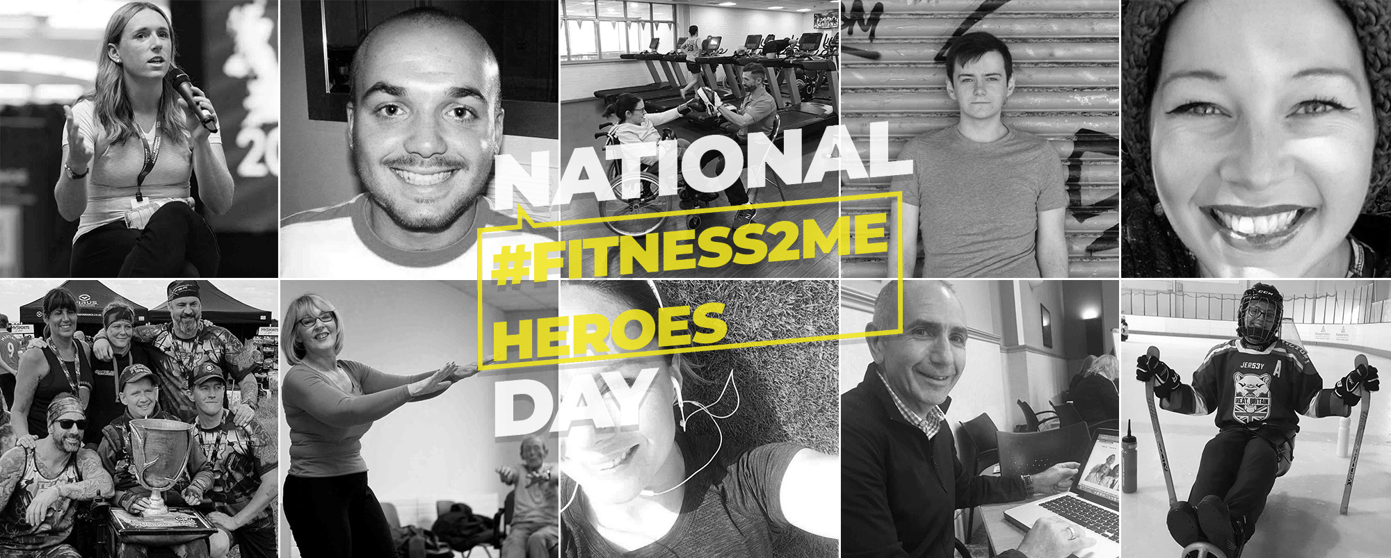 Twelve Fitness2Me heroes help inspire UK into action for National Fitness Day