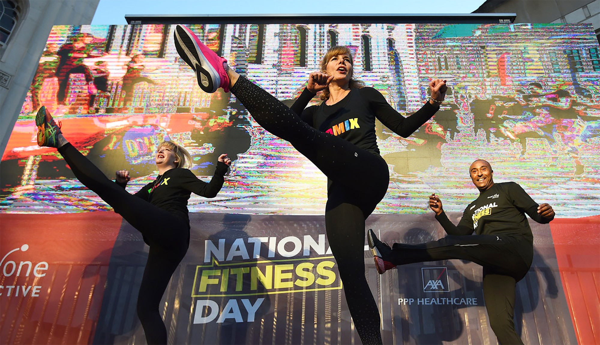 National Fitness Day hits headlines across the UK to inspire the nation