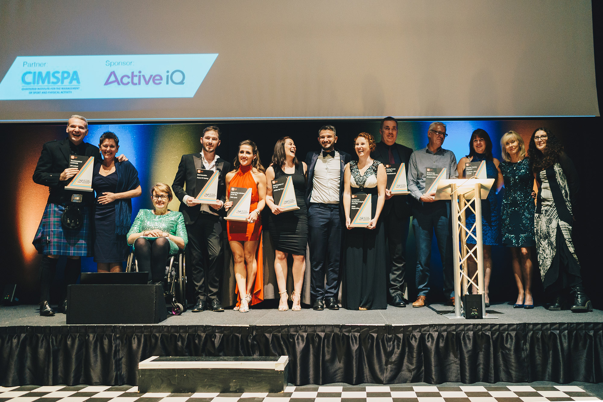 ukactive reveals winners of Active Training Awards 2018