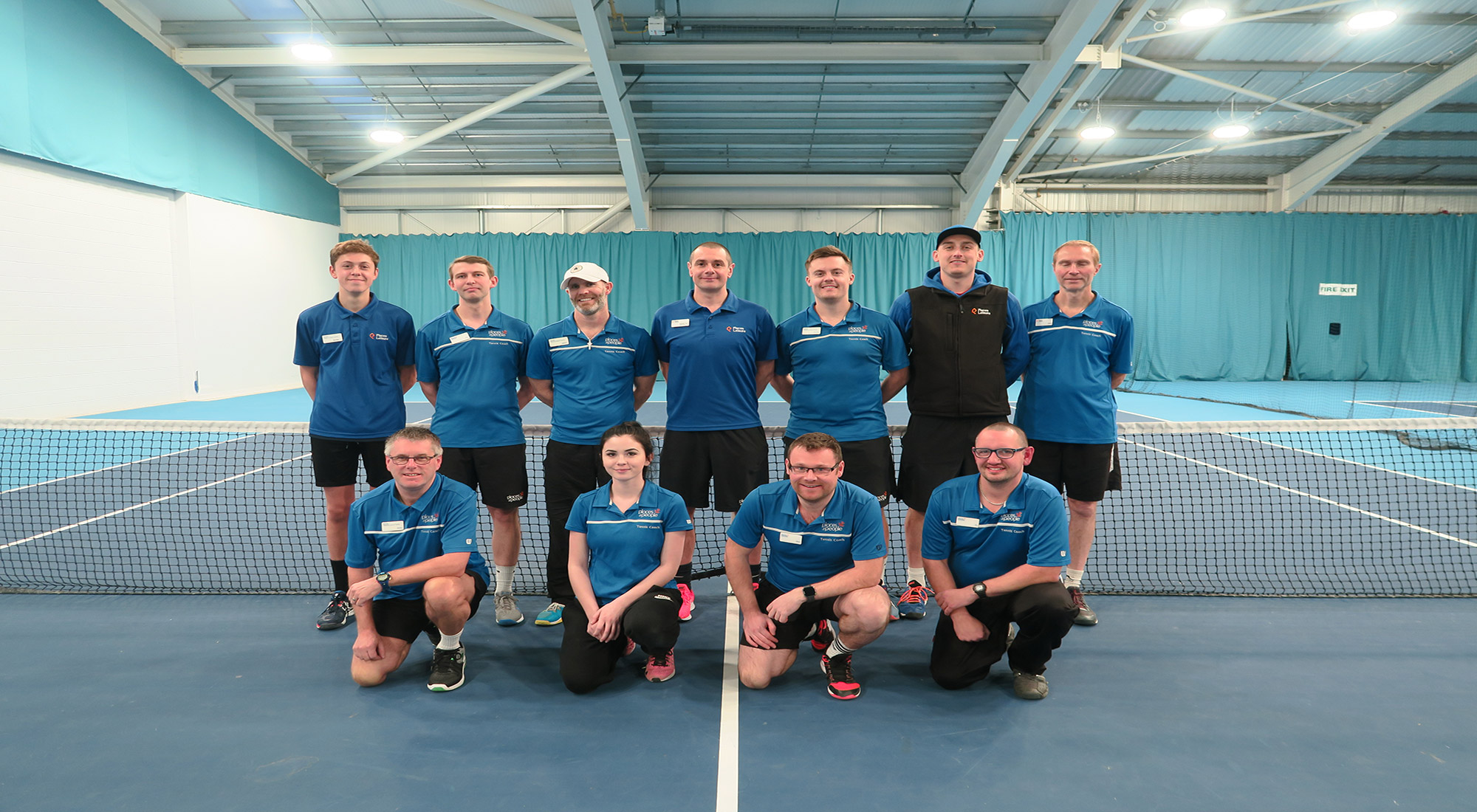 Tennis for everyone: Places Leisure celebrates three LTA Awards for Graves Health & Sports Centre