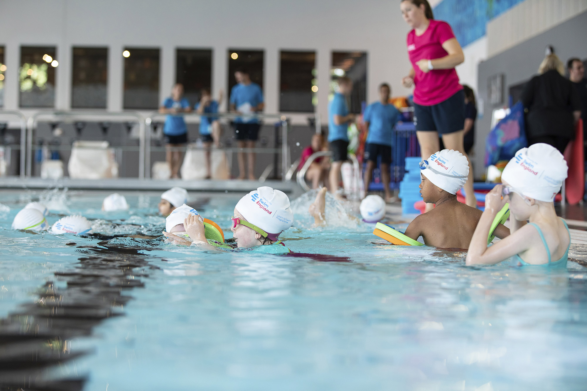 Institute of Swimming partner with Stevenage Leisure to train more swimming teachers