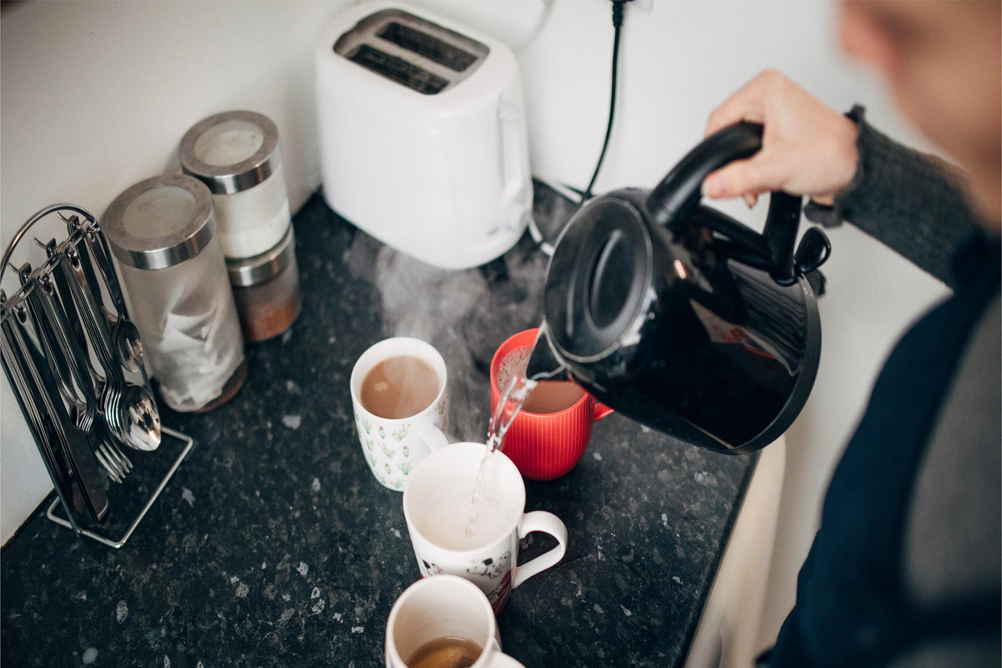 Brits spend twice as long making tea per week as exercising
