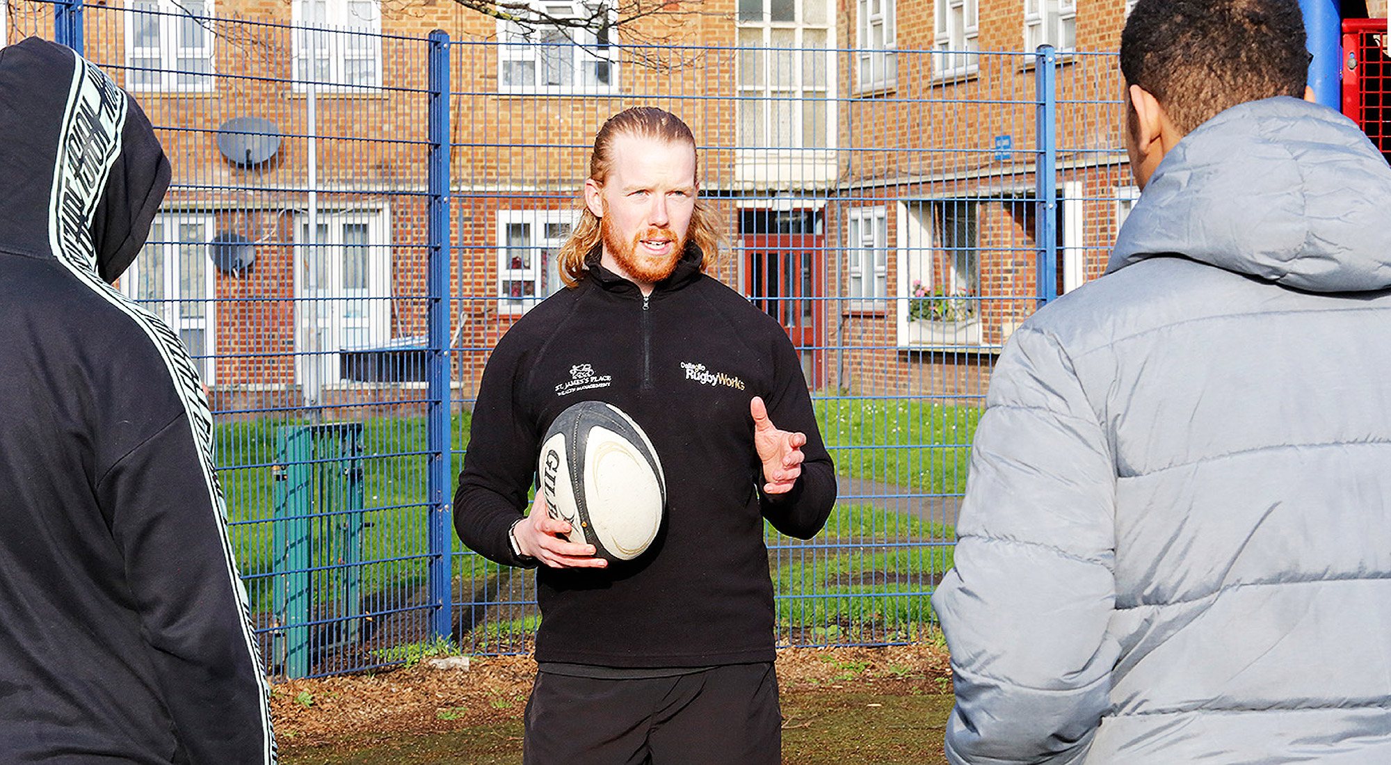 ukactive and Lawrence Dallaglio's RugbyWorks launch Open Doors to support young people at risk of crime