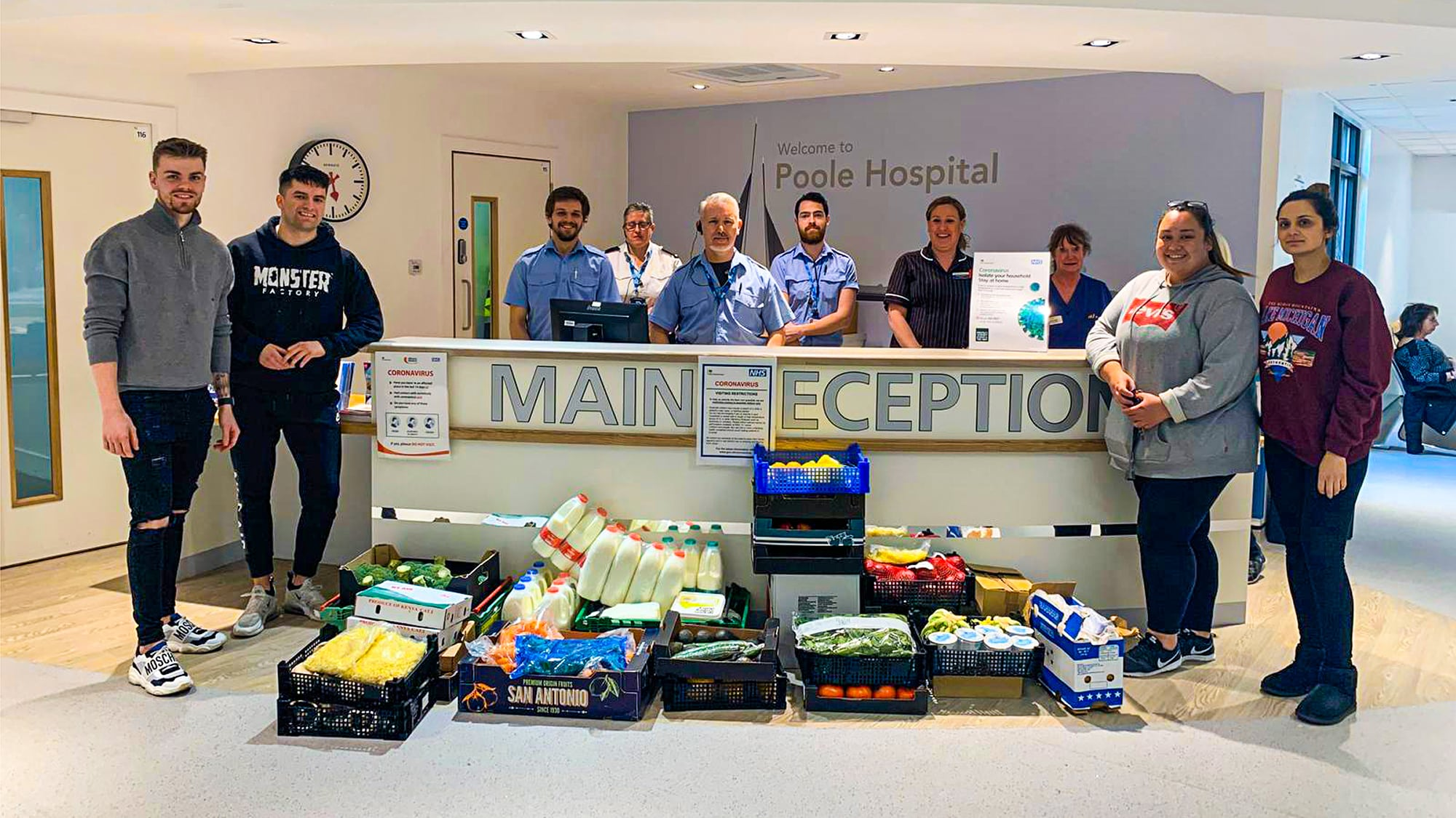 Together: David Lloyd Clubs donate food to NHS and vulnerable groups after closing their sites