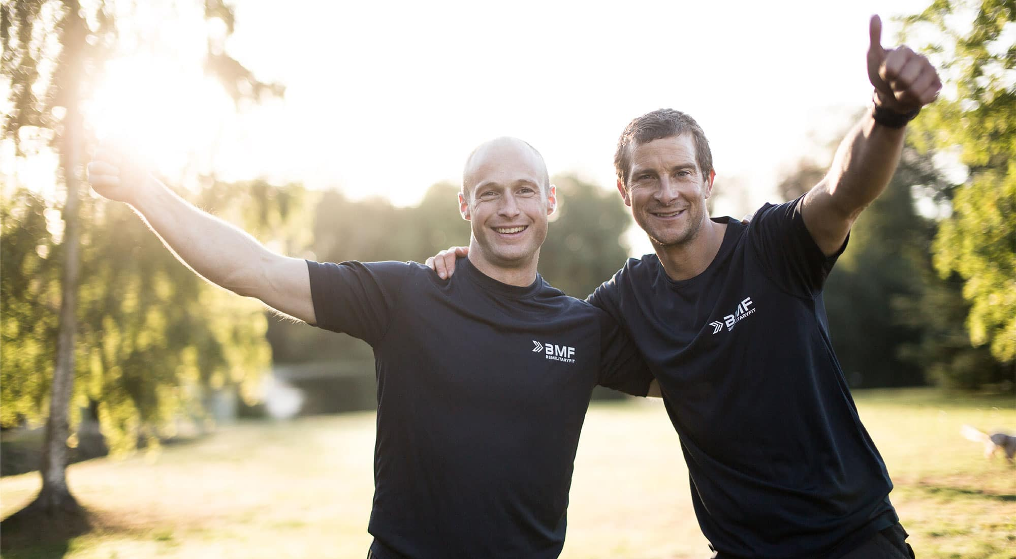BMF with Bear Grylls to launch #BeActive Hour across Europe in lead up to National Fitness Day 2020