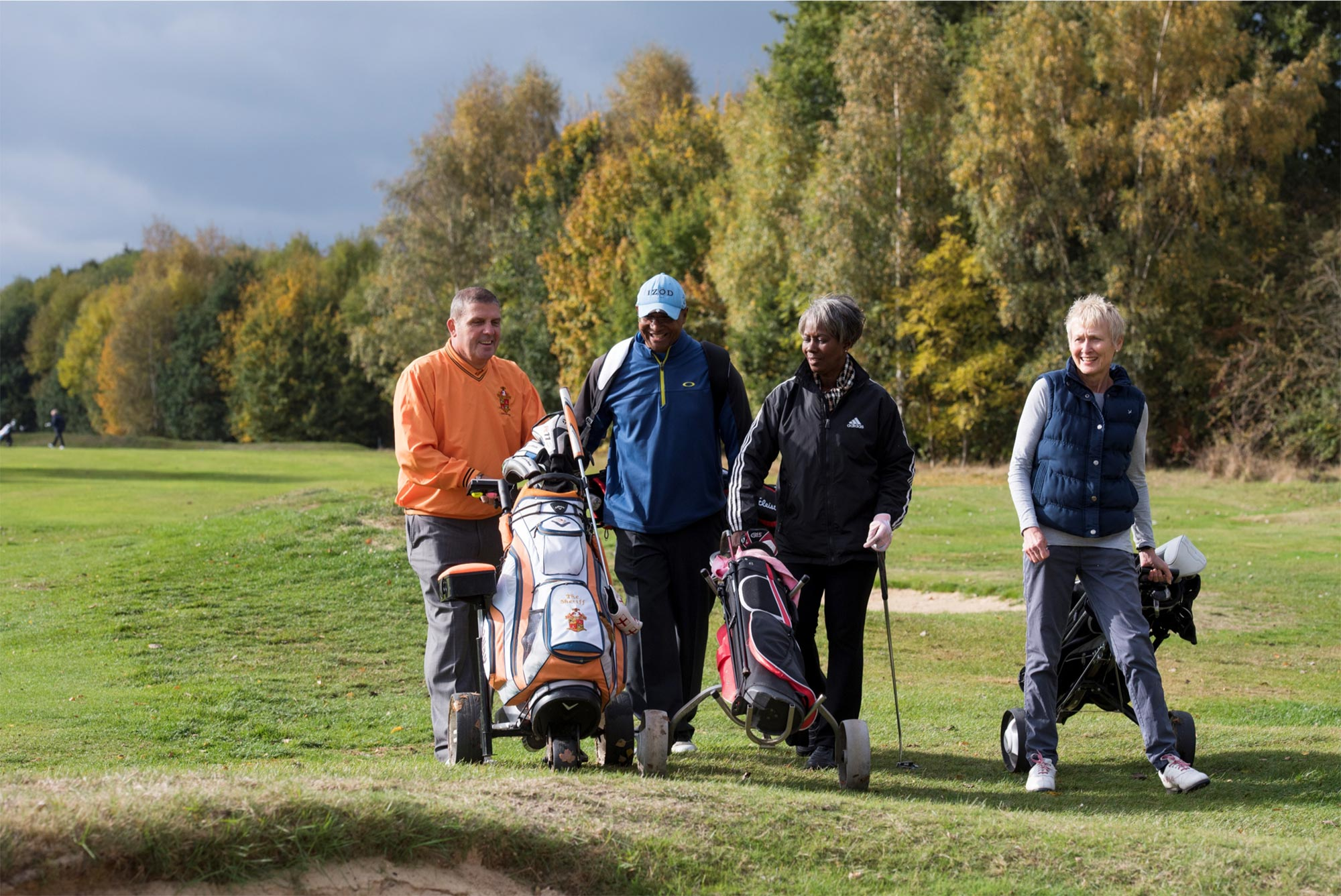Golf lessons help improve life satisfaction and strength for patients with chronic conditions, new study shows