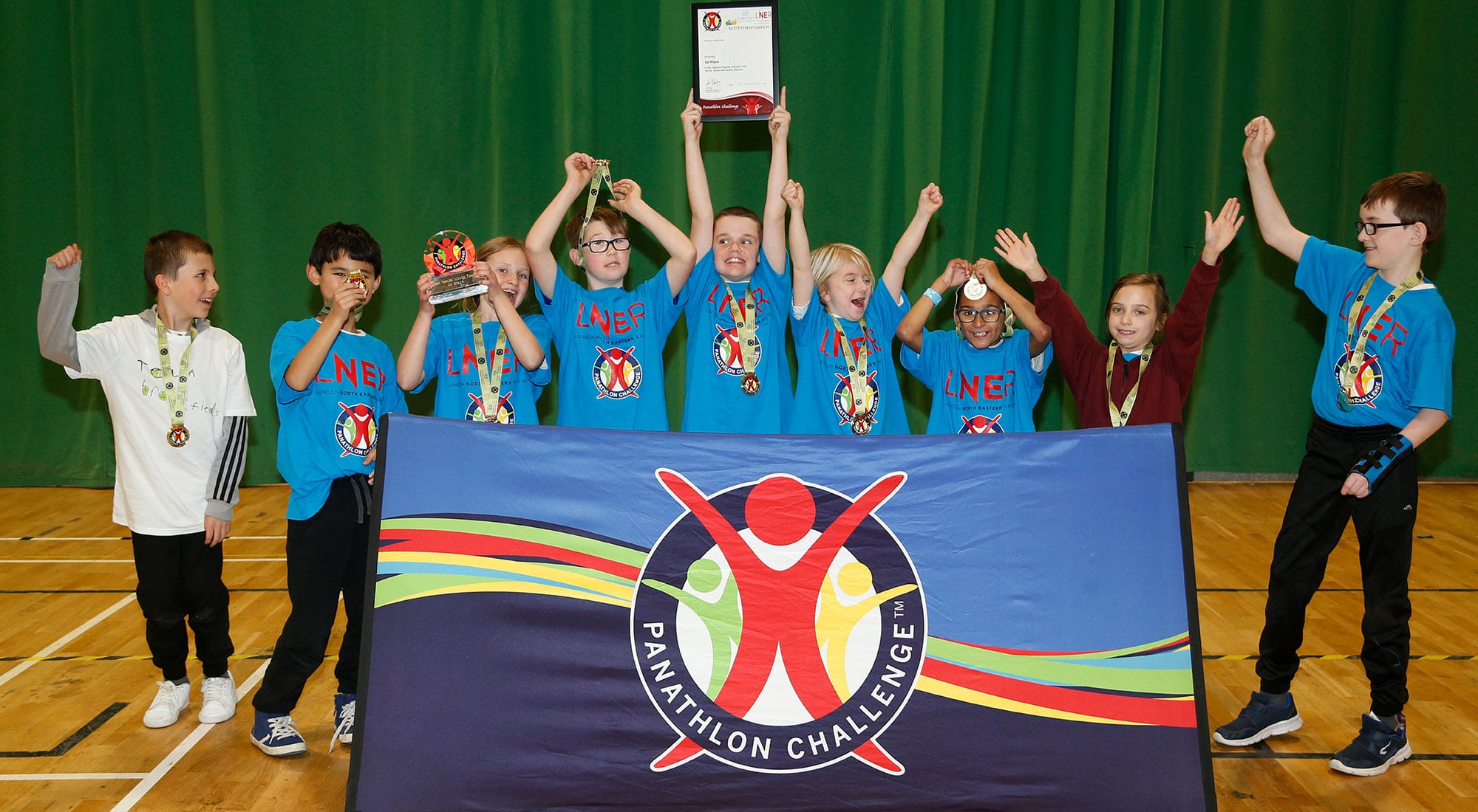 Disability school sport returns during the Great British Week of Sport