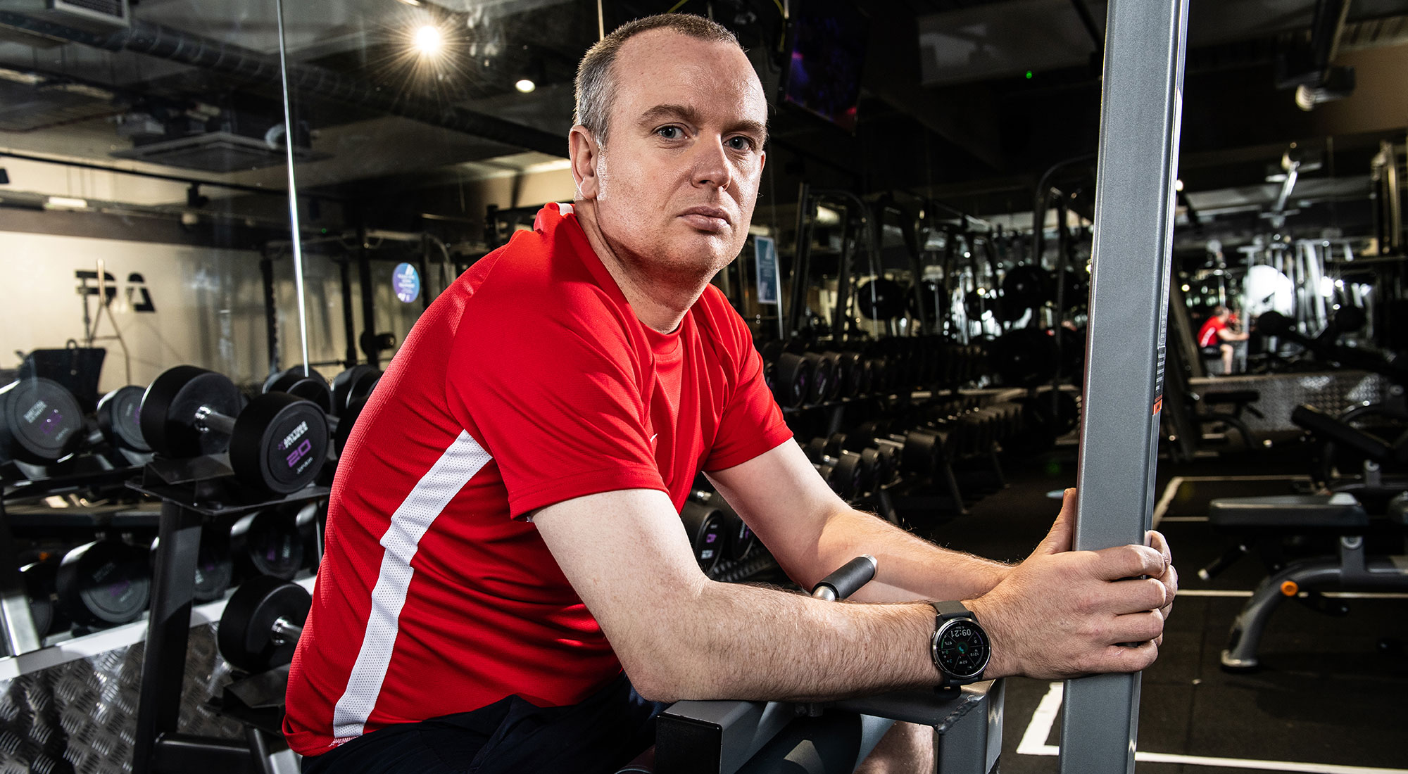 'My gym helped save me, mentally and physically' – former chef gets his life back after losing his vision to rare condition