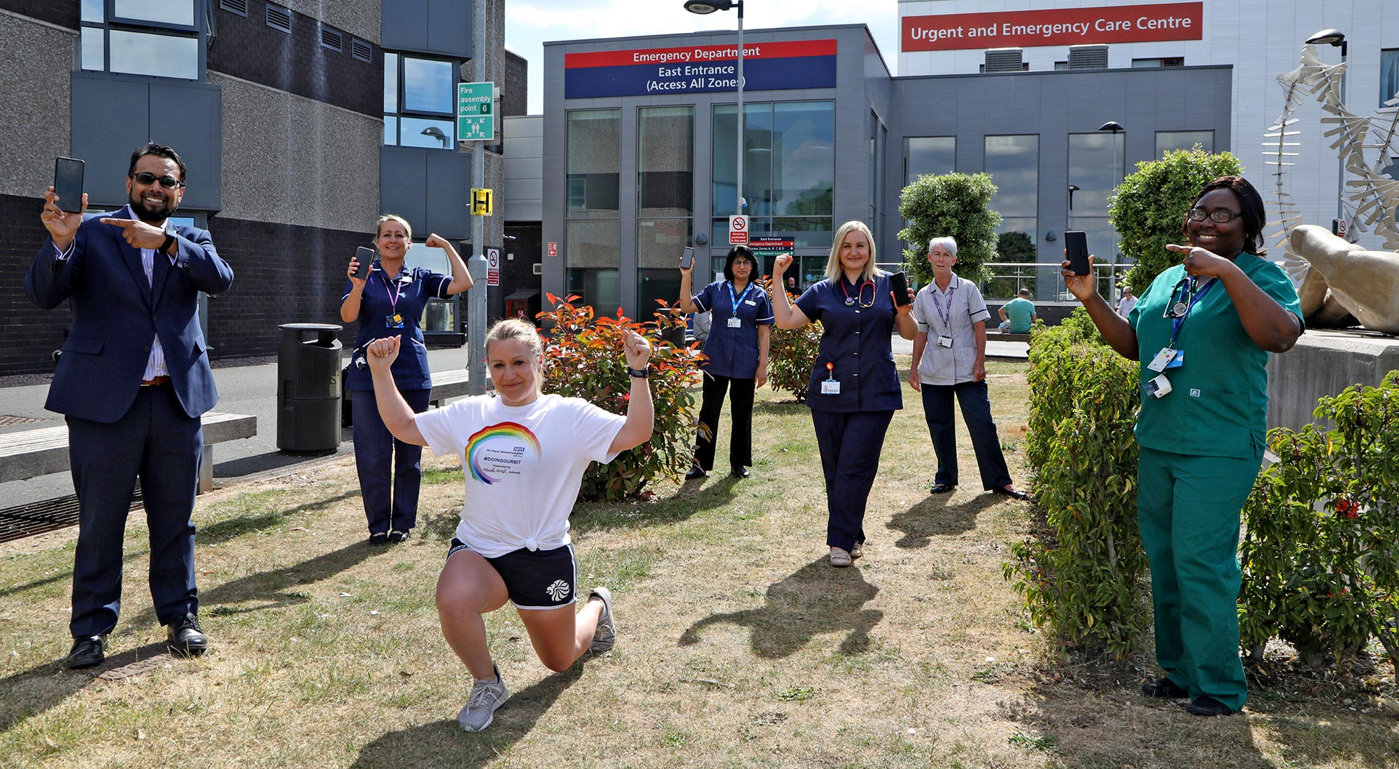 We must safeguard our free fitness legacy platform for NHS staff