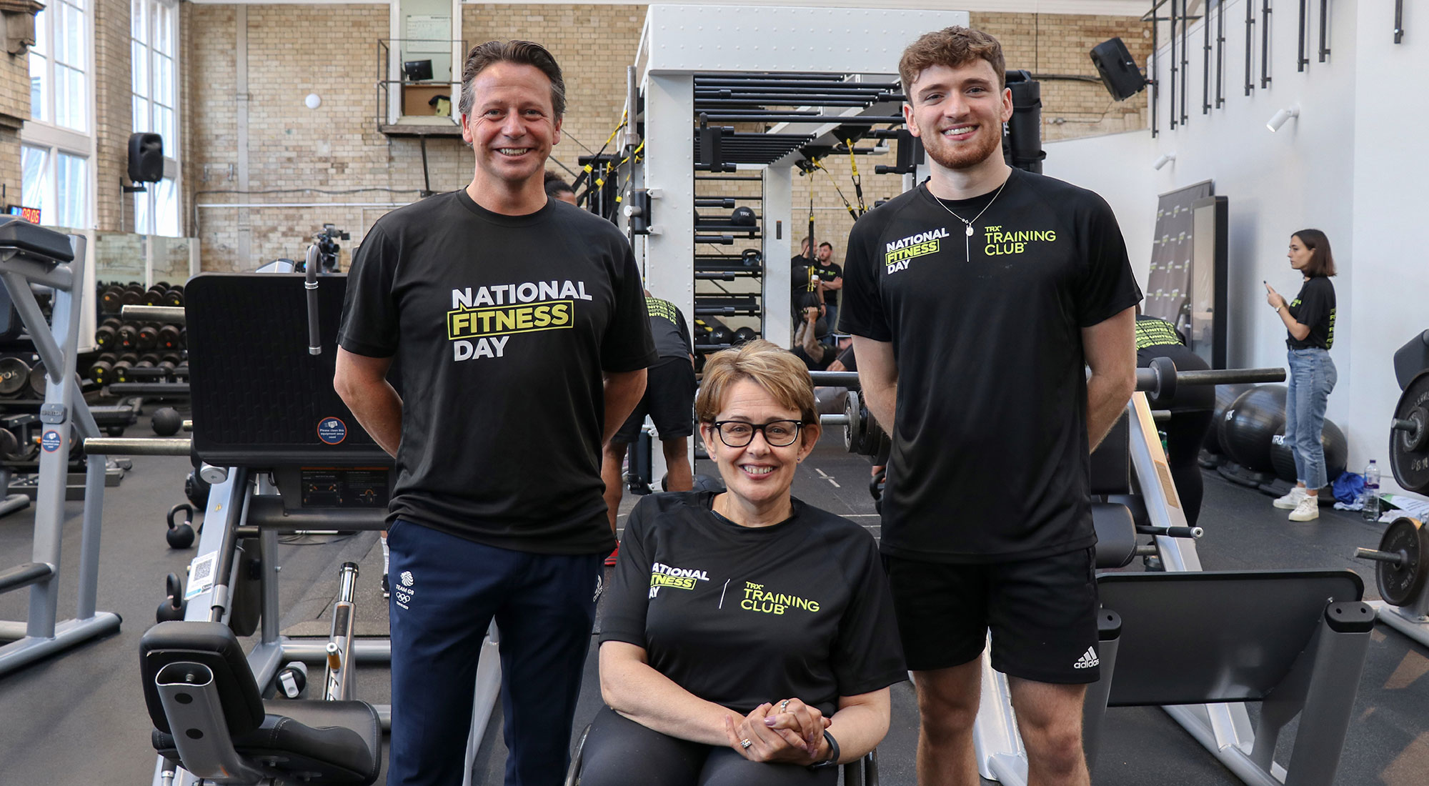 Matty Lee, Tanni Grey-Thompson and Nigel Huddleston call for nation to get moving as millions join National Fitness Day celebrations